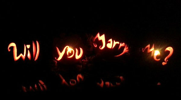 Halloween Marriage Proposal Ideas